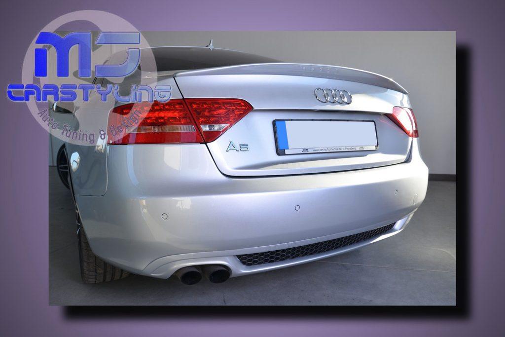 Audi A5 Coupe/ Cabrio – Achterbumper Diffuser (S-Line)