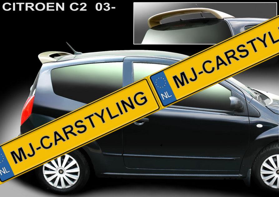 Citroen C2 – Dakspoiler