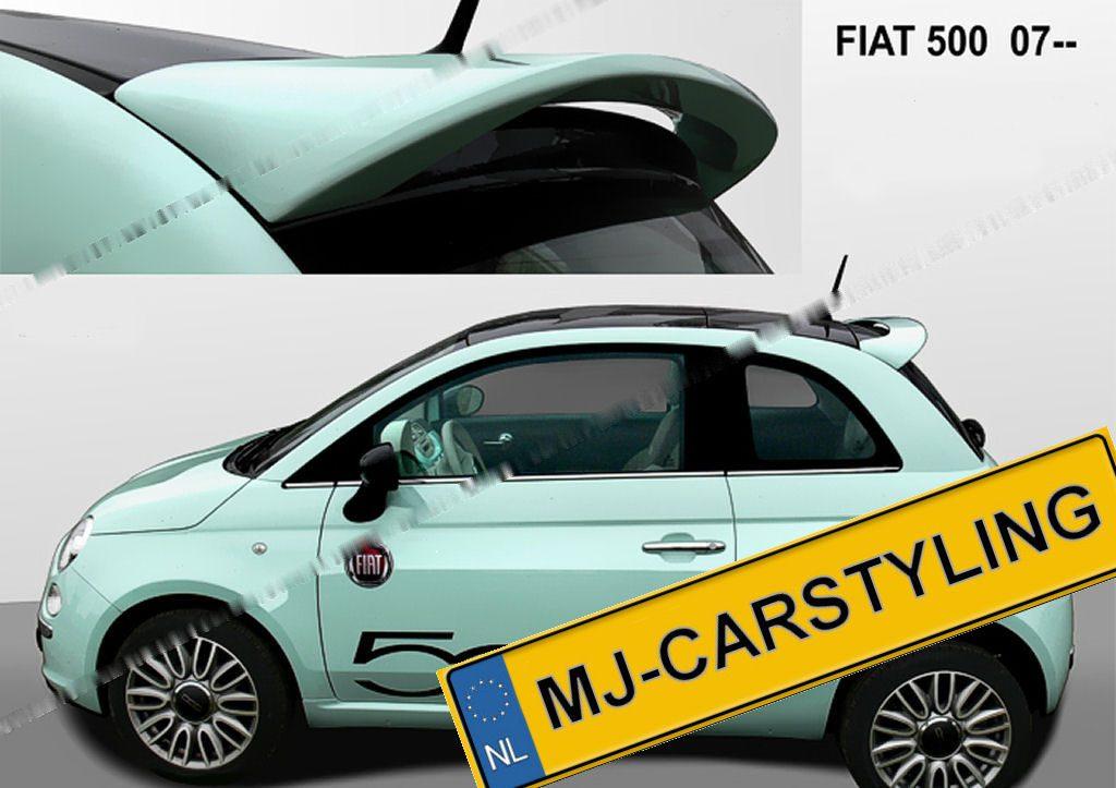Fiat 500 '07 – Dakspoiler