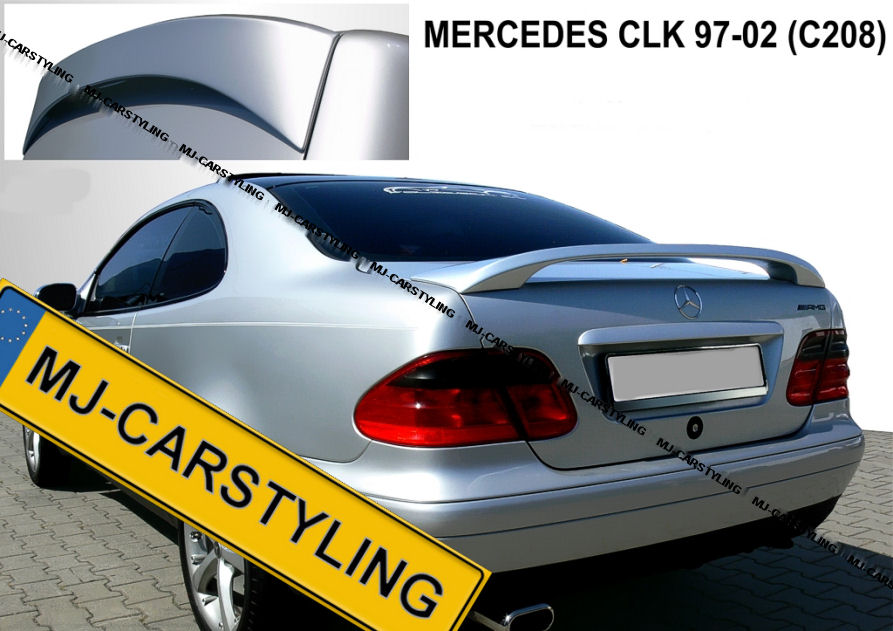 Mercedes CLK W208 – Achterklep spoiler