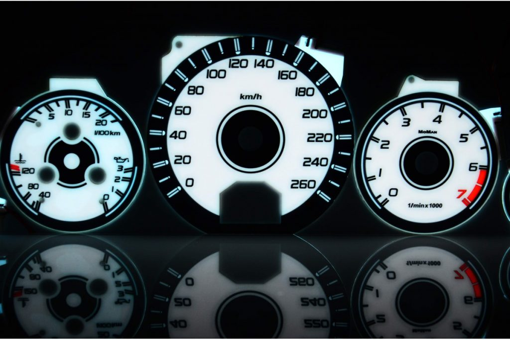Mercedes S-klasse W140 – Indiglo Tellerplaten