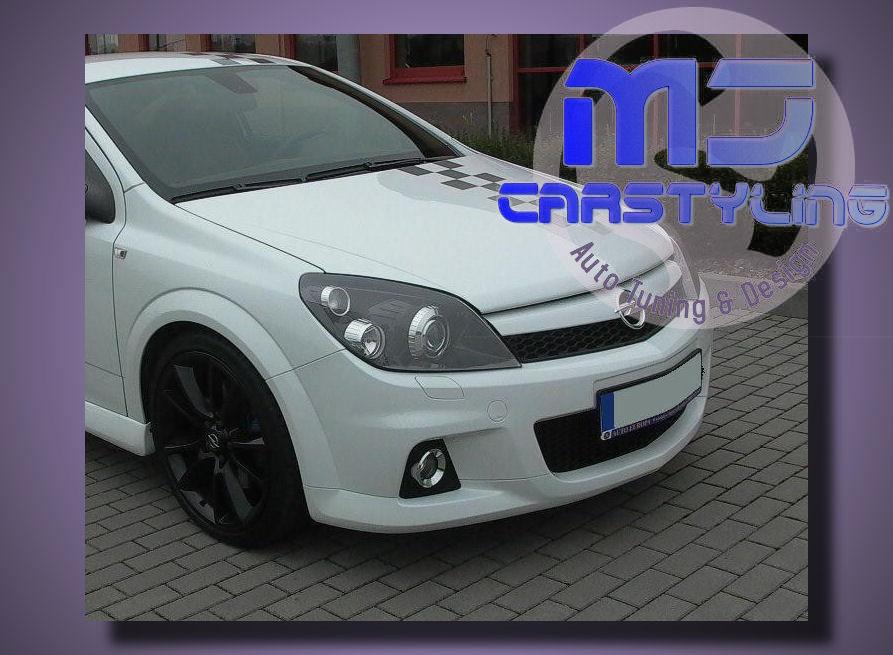Opel Astra H – Voorbumper (OPC Look)