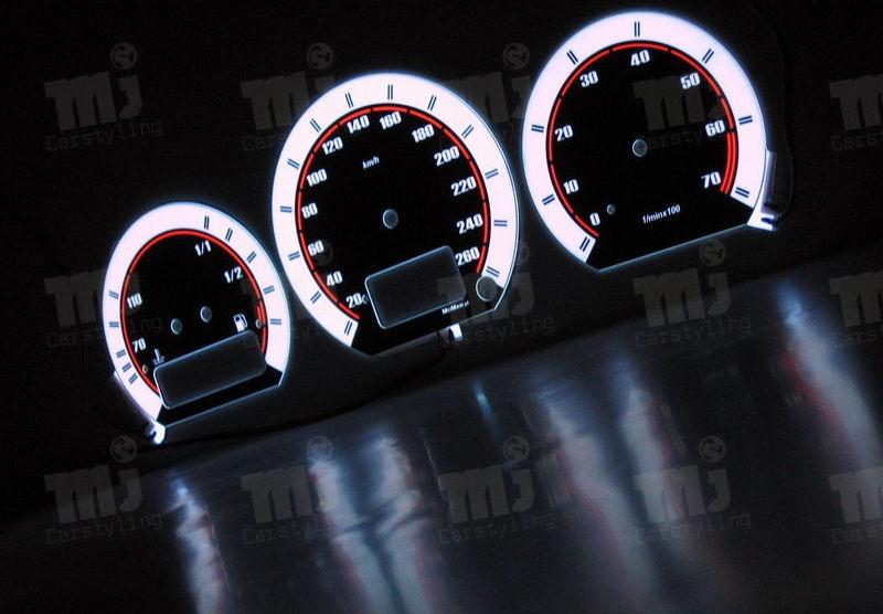 VW Corrado – Indiglo Tellerplaten II